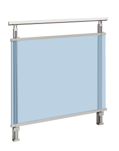 barrière de luxe en aluminium